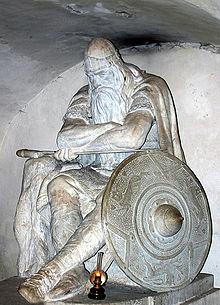 Statua di Ogier nel Castello di Kronborg