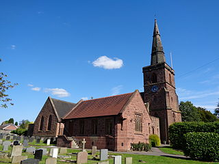 Upton by Chester Human settlement in England