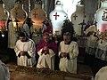 Holy Land 2016 P1001 Jerusalem Church of the Holy Sepulchre Resurrection Sunday procession.jpg
