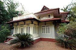 Old style house in Kaippattoor