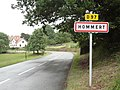 Hommert (Moselle) entrée.jpg