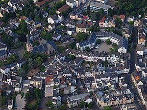 Bad Honnef - Honnef, Aerial view