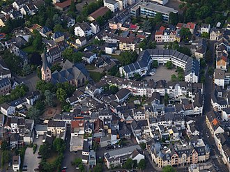 Bad Honnef - Honnef, Aerial view