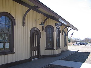 Hopewell Junction, New York - Image: Hopewell Depot 124