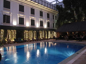 Sofitel Legend Metropole Hanoi - Poolside of the Metropole