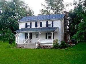 Cross Roads, Pennsylvania - Image: House in Crossroads, York Co, PA