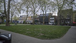Hoxton district in the East End of London, England