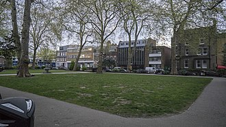 Hoxton - Image: Hoxton Square park