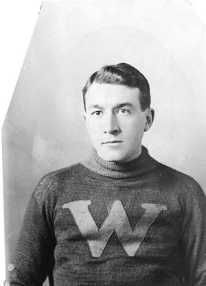 Hughie Lehman - Lehman in 1912 with the New Westminster Royals.