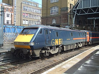 Sea Containers - GNER InterCity 225 at London King's Cross in July 2007