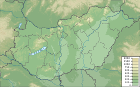 Hungary physical map.svg