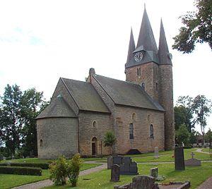 Västergötland - Husaby Church