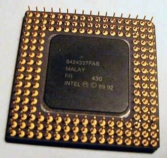 Intel 80486SX - Image: I486sx