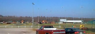 """Indian Hills Community College - IHCC """"Falcons"""" baseball complex in Centerville."""