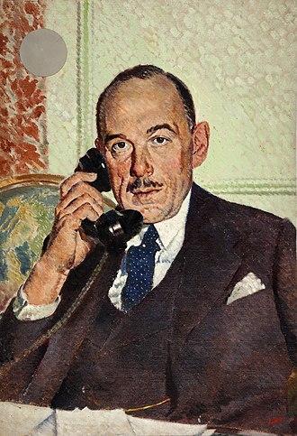 Aldershot (UK Parliament constituency) - Image: INF3 14 Rt Hon Oliver Lyttelton Artist William Little 1939 1946