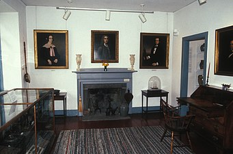 INTERIOR OF STONINGTON HARBOR LIGHTHOUSE, STONINGTON, CT.jpg