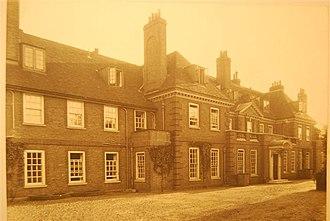 Ibstock Place School - Main House circa 1930