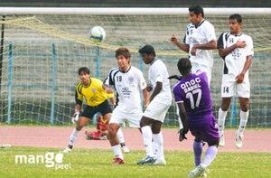 2008–09 I-League - Image: I League Daniel of Chirag United SC Mahindra United Salt Lake Kolkata