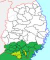 Ichinoseki han in late Edo period.png