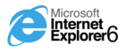 Logo Internet Explorer 6