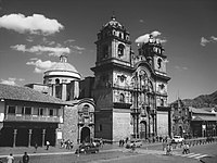 Iglesia de la Compañia de Jesús en Cusco