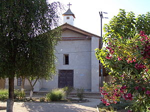 Roman Catholic Diocese of Linares - Parish church of the village of Nirivilo, San Javier comuna, Linares Province, Chile. The building dates from Chile's colonial period. The parish belongs to the Diocese of Linares