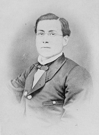 Second Federal Republic of Mexico - General Ignacio Zaragoza, victor at Puebla