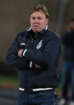 Igor Kolyvanov - Kolyvanov coaching Torpedo Moscow in 2017