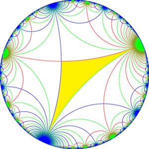 Truncated order-4 apeirogonal tiling - Image: Ii 2 symmetry 000