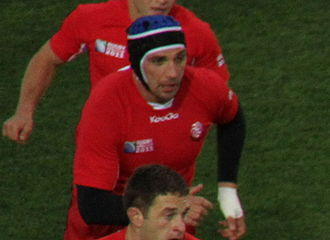 Georgia national rugby union team - Ilia Zedginidze