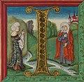 Illuminated Manuscript, Bible (part), Naomi and Ruth, Walters Manuscript W.805, fol. 155v - 7351796512.jpg