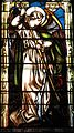 Immaculate Conception Catholic Church (Knoxville, Tennessee) - stained glass, Saint Michael.jpg