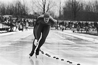 Ineke Kooiman-van Homoet Dutch speed skater