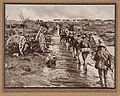 Infantry marching ahead in single file to the Front Line (2867578826).jpg