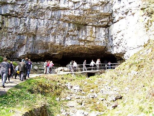 Ingleborough Cave entrance