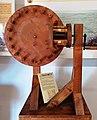 Ingranaggio a lanterna di Leonardo da Vinci in una mostra su Leonardo da Vinci al Mulino di Mora Bassa - Morabassa.jpg