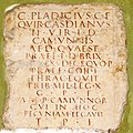 Inscription CIL V 4957 from Cividate Camuno - Capitolium Brescia (Foto Luca Giarelli).jpg