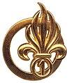 Le béret dans l'armée 99px-Insign_de_b%C3%A9ret_1er_RE_Type_3
