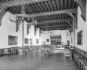 Hof van Holland - Rolzaal at the Binnenhof, where the Hof van Holland held its audiences.