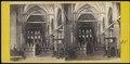 Interno dei Frari narvata principale Venise - Intérieur de l'église dei Frari, Venise.tif