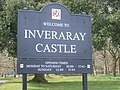 Inveraray Castle sign - geograph.org.uk - 762814.jpg