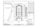 Irvine Presbyterian Church, Irvine, Warren County, PA HABS PA,62-IRV,1- (sheet 5 of 7).png