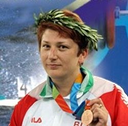 Iryna Yatchenko 2004 Belarusian stamp.jpg