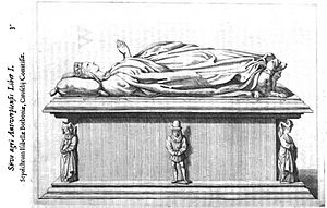 Isabella of Bourbon - Isabella of Bourbon's funeral monument in the St. Michael's Abbey, Antwerp - 17th century