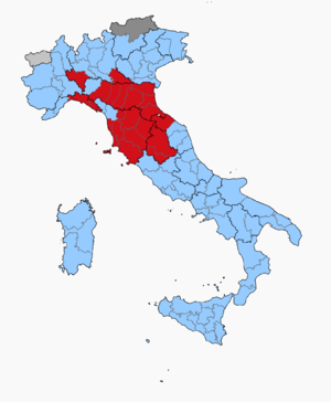 Italian general election, 1972 - Image: Italian Election 1972 Province