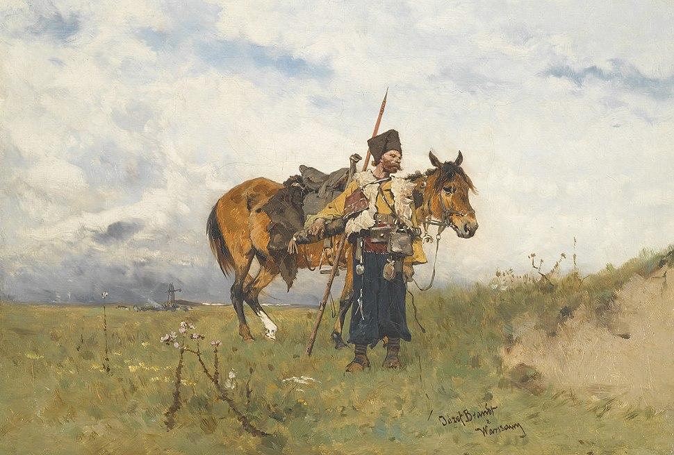 Józef Brandt - Kozak straż