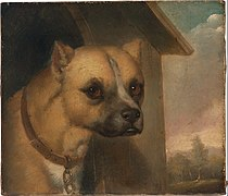 J.M. Crossland - Staffordshire bull terrier belonging to the Rev. John Gower - Google Art Project.jpg
