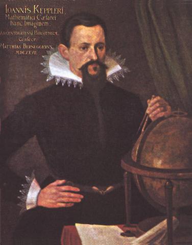 Портрет Кеплера, 1627г.
