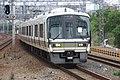 JRW Series 221 set B13 with Series 223-6000 set CV25 passing through Maya station.jpg