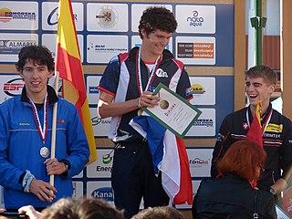 Andreu Blanes Spanish orienteering competitor